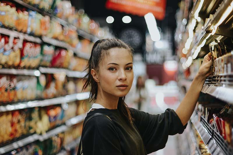 cosmétiques naturels supermarché